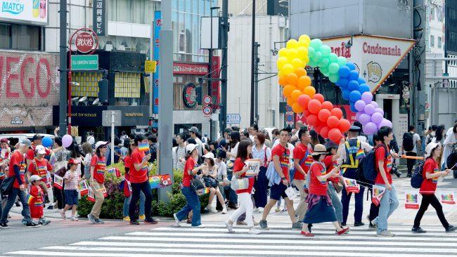 東京レインボープライド2018 パレード