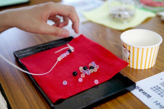 東京レインボープライド2018 数珠作り