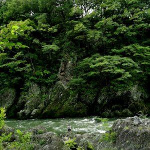 もっきーin河原